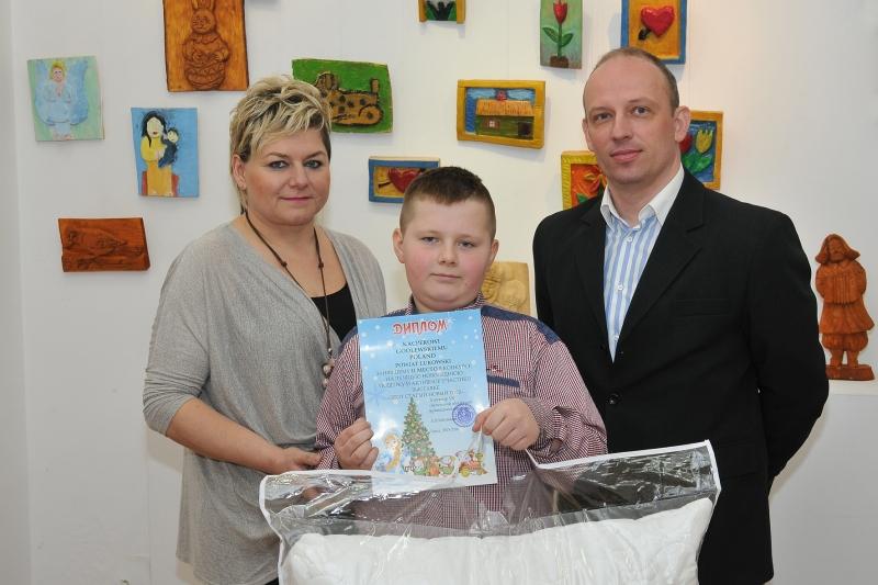 Łukowska choinka zdobyła II miejsce na międzynarodowym konkursie w Brześciu na Białorusi
