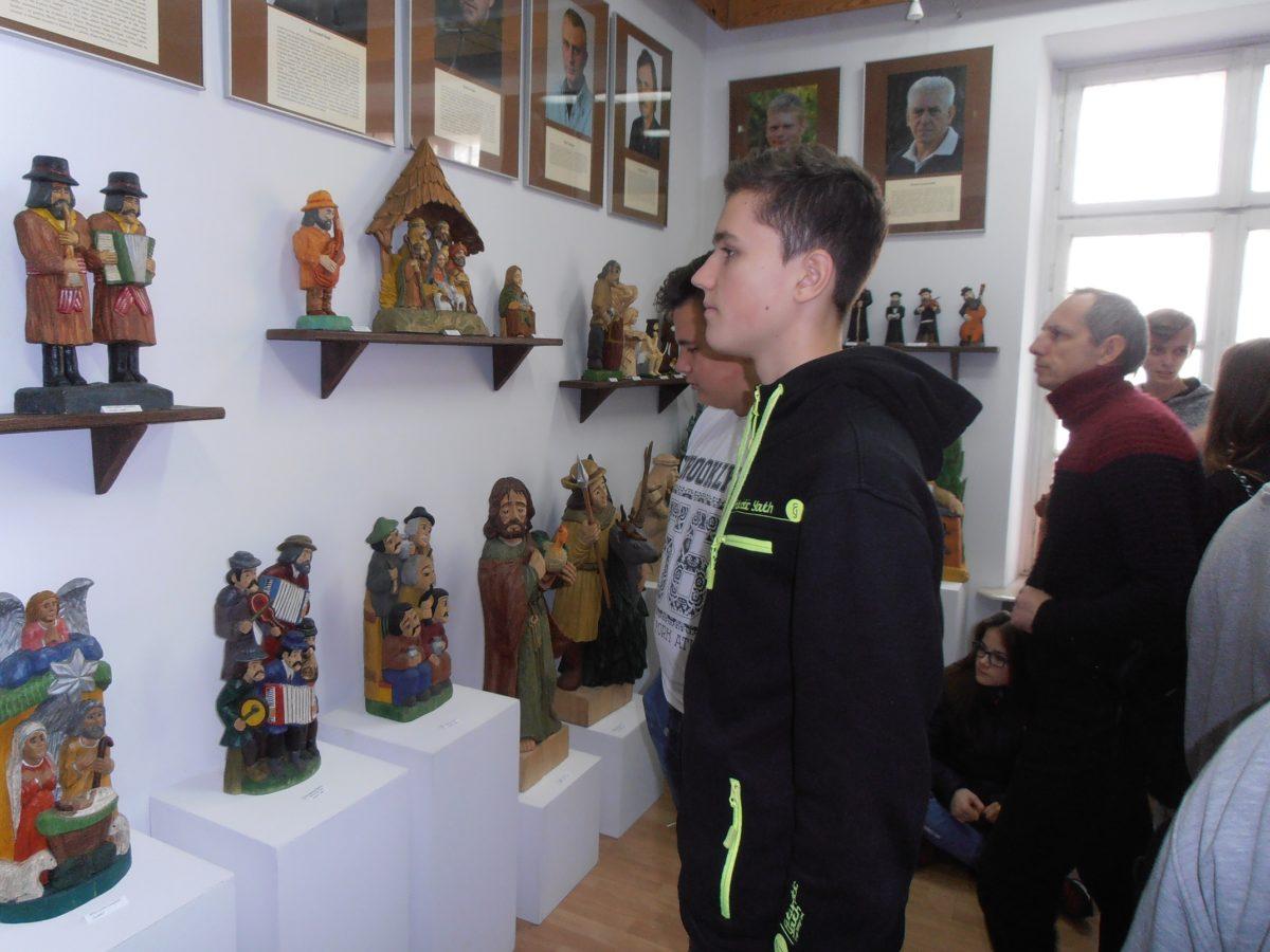 Uczniowie Zespołu Szkół w Krynce zwiedzili Muzeum Regionalne w Łukowie