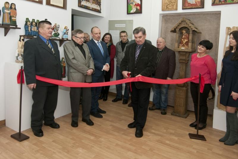 Spotkanie noworoczne członków Stowarzyszenia Twórców Ludowych Oddział w Łukowie