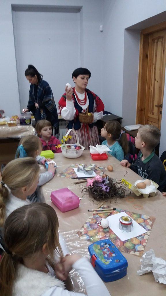 Warsztaty Wielkanocne w Muzeum Regionalnym w Łukowie