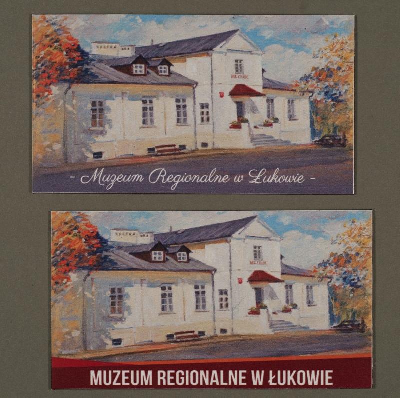 Magnesy z wizerunkiem gmachu muzeum