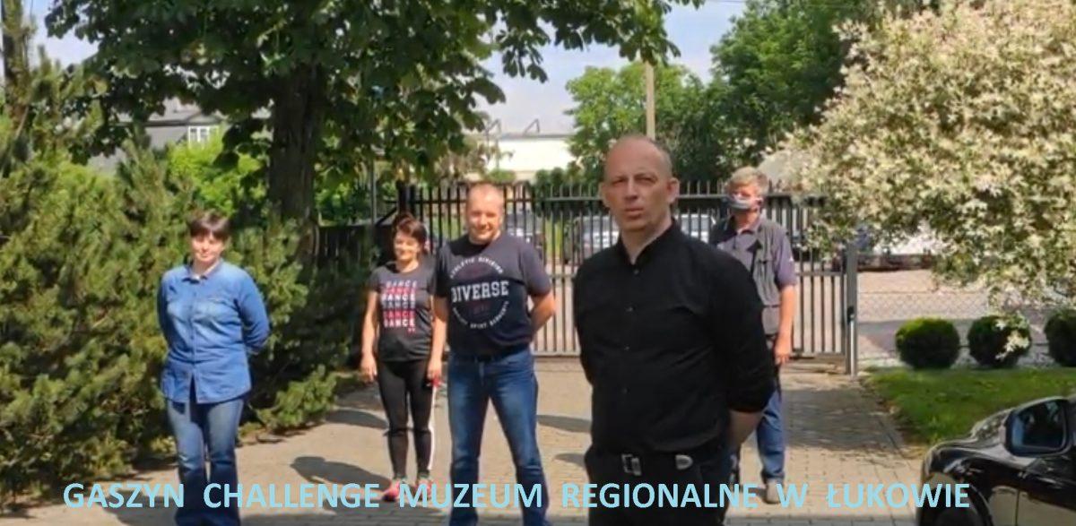 Muzeum Regionalne w Łukowie przystąpiło do akcji #gaszynchallenge
